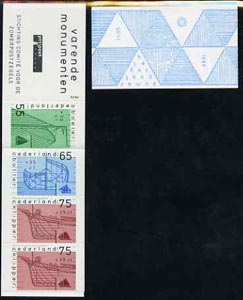 Booklet - Netherlands 1989 Welfare Funds - Old Sailing Vessels 4g05 booklet complete and very fine, SG SB100