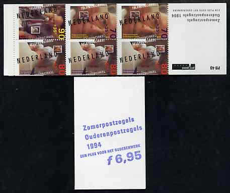 Booklet - Netherlands 1994 Welfare Funds - Senior Citizens