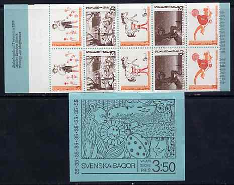 Booklet - Sweden 1969 Swedish Fairy Tales 3k50 booklet complete and pristine, SG SB242