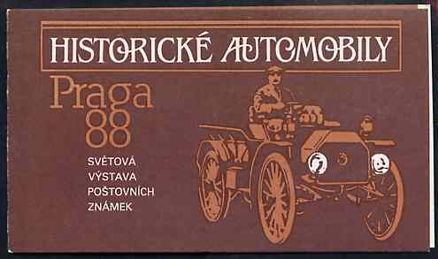 Booklet - Czechoslovakia 1988