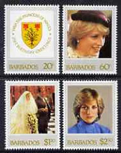 Barbados 1982 Princess Diana