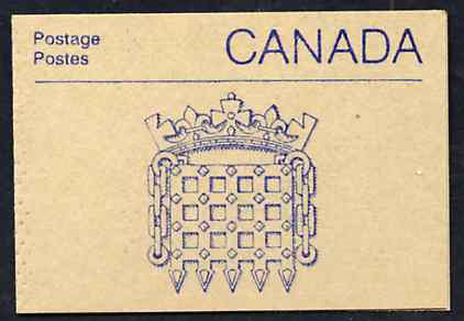 Booklet - Canada 1988 Architectural features 50c booklet (Stone Carving) SG SB108e