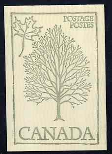 Booklet - Canada 1978 Flowers & Trees - Sugar Maple 50c booklet (green on crean cover) complete and pristine, SG SB 84i