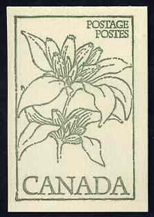 Booklet - Canada 1978 Flowers & Trees - Bottle Gentium 50c booklet (green on crean cover) complete and pristine, SG SB 84a