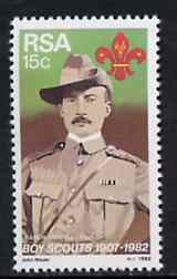 South Africa 1981 75th Anniversary of Boy Scout Movement unmounted mint, SG 504*
