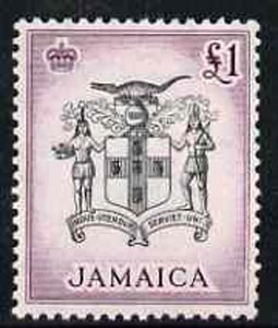 Jamaica 1956 Arms of Jamaica \A31 from def set unmounted mint, SG 174*