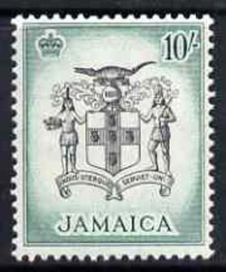 Jamaica 1956 Arms of Jamaica 10s from def set unmounted mint, SG 173*