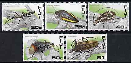 Fiji 1987 Fijian Insects set of 5 unmounted mint, SG 761-65
