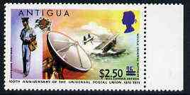 Antigua 1975 $2.50 on 35c from provisional surcharges set unmounted mint, SG 423*