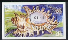 Eynhallow 1979 Shells (Year of the Child) �1 imperf souvenir sheet (Murex) cto used