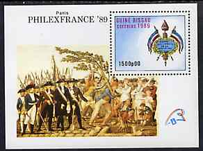 Guinea - Bissau 1989 PhilexFrance '89 Stamp Exhibition (Paintings) m/sheet unmounted mint, SG MS 1142, Mi BL 279