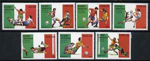 Guinea - Bissau 1989 Football World Cup set of 7 unmounted mint, SG 1151-57, Mi 1073-79*