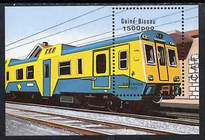 Guinea - Bissau 1989 Trains, perf m/sheet unmounted mint, SG MS 1118, Mi BL 276