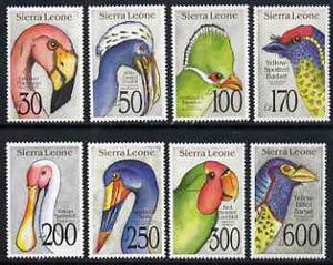 Sierra Leone 1992 Birds set of 8 unmounted mint, SG 1829-36*
