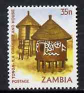 Zambia 1981 Granary 35n from definitive set, SG 346 unmounted mint*