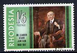 Rhodesia 1967 Famous Rhodesians (1st Series) Dr Jameson (Administrator) fine used SG 413