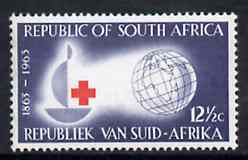 South Africa 1963 Red Cross Centenary 12.5c unmounted mint, SG 226