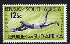 South Africa 1964 Rugby Board 75th Anniversary 12.5c unmounted mint, SG 253