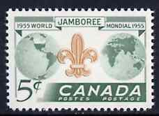 Canada 1955 Eighth World Scout Jamboree unmounted mint, SG 482*