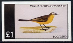 Eynhallow 1982 Birds #17 imperf  souvenir sheet (�1 value) unmounted mint