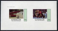 Eynhallow 1982 Soldiers (Trooping the Colour & Coronation Coach) imperf  set of 2 values (40p & 60p) unmounted mint