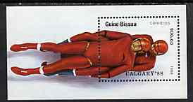 Guinea - Bissau 1988 Calgary Winter Olympic Games unmounted mint m/sheet, SG MS 1012, Mi BL 270