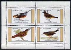 Eynhallow 1981 Birds #18 perf  set of 4 values (10p to 75p) unmounted mint