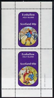 Eynhallow 1982 Fairy Tales (Dick Whittington) perf set of 2 values (40p & 60p) unmounted mint