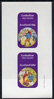 Eynhallow 1982 Fairy Tales (Dick Whittington) imperf set of 2 values (40p & 60p) unmounted mint