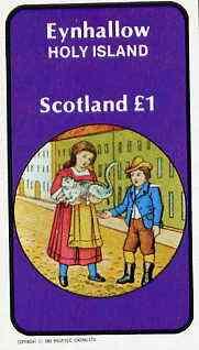 Eynhallow 1982 Fairy Tales (Dick Whittington) imperf souvenir sheet (�1 value) unmounted mint