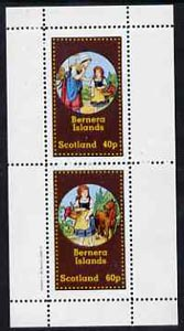 Bernera 1982 Fairy Tales (Little Red Riding Hood) perf  set of 2 values (40p & 60p) unmounted mint