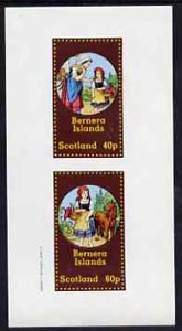 Bernera 1982 Fairy Tales (Little Red Riding Hood) imperf  set of 2 values (40p & 60p) unmounted mint