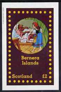 Bernera 1982 Fairy Tales (Little Red Riding Hood) imperf  deluxe sheet (�2 value) unmounted mint