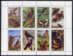 Eynhallow 1977 Birds #01 perf set of 8 values complete unmounted mint (1p to 40p)