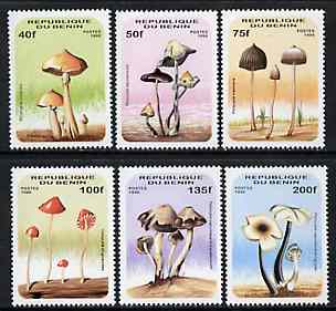 Benin 1996 Mushrooms complete set of 6 unmounted mint, Mi 849-54*