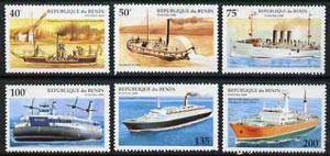Benin 1995 Ships complete set of 6, SG 1285-90, Mi 631-36 unmounted mint*