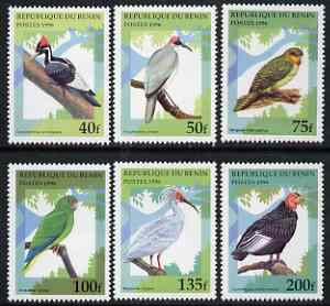 Benin 1996 Birds complete set of 6 unmounted mint, SG 1425-30, Mi 842-47*