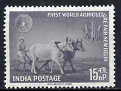 India 1959 First World Agricultural Fair unmounted mint, SG 425*