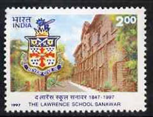 India 1997 The Lawrence School, Sanawar, unmounted mint SG 1738*