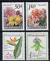Czechoslovakia 1980 Flower Shows perf set of 4 unmounted mint, SG 2533-36, Mi 2574-77