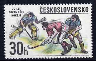Czechoslovakia 1978 Field Hockey 30h from Sports Events set of 6, SG 2396, Mi 2434 unmounted mint