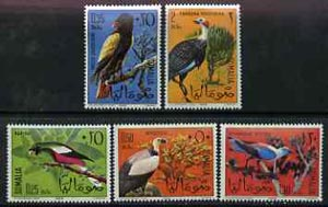Somalia 1966 Birds unmounted mint set of 5, SG 436-40