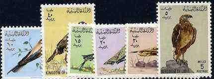 Libya 1965 Birds set of 6 unmounted mint, SG 335-40