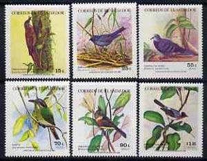 El Salvador 1984 Birds unmounted mint set of 6, SG 1859-64