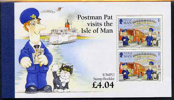 Booklet - Isle of Man 1994 Postman Pat \A34.04 booklet complete and very fine, SG SB38