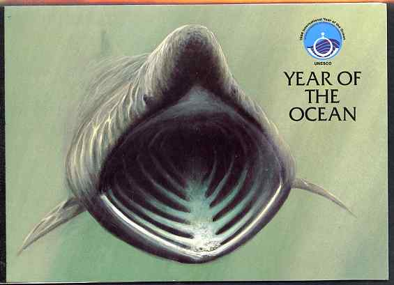 Booklet - Isle of Man 1998 Year of the Ocean \A33.62 booklet complete and very fine, SG SB48