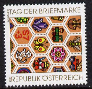 Austria 1990 Stamp Day (Thematic Stamp Subjects) 7s+3s unmounted mint, SG  2227