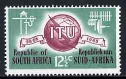South Africa 1965 ITU Centenary 12.5c unmounted mint, SG 259