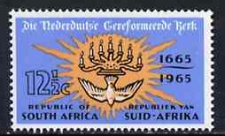 South Africa 1965 Dutch Reformed Church 12.5c unmounted mint, SG 261