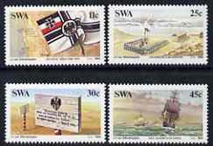 South West Africa 1984 Centenary of German Colonisation set of 4 unmounted mint, SG 431-34*